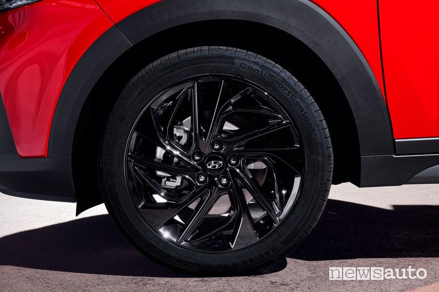 Hyundai Tucson N Line cerchi in lega