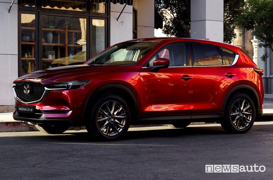 Mazda CX-5 2019 vista di profilo