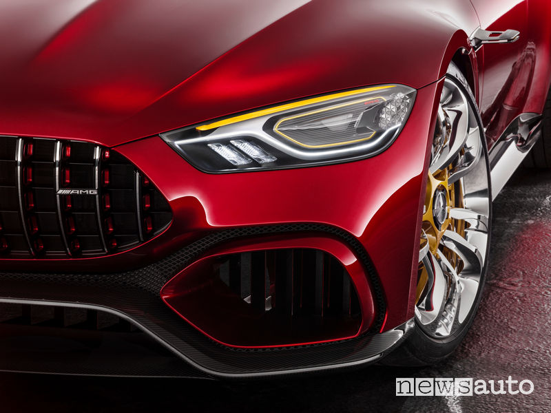 Frontale Mercedes-AMG GT Concept