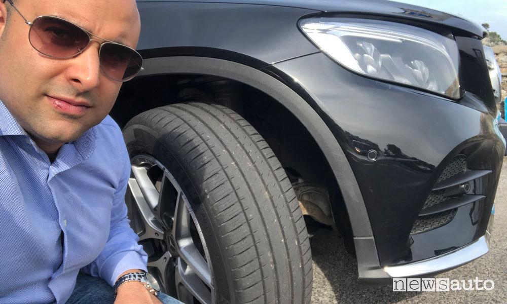 Michelin Pilot Sport 4 SUV primo contatto con Marco Savo