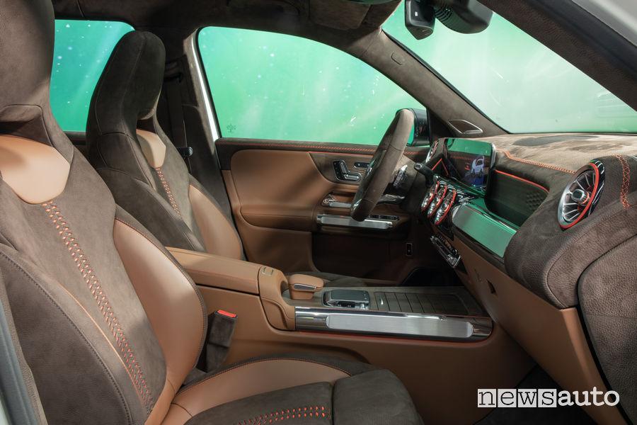 Mercedes-Benz Concept GLB abitacolo