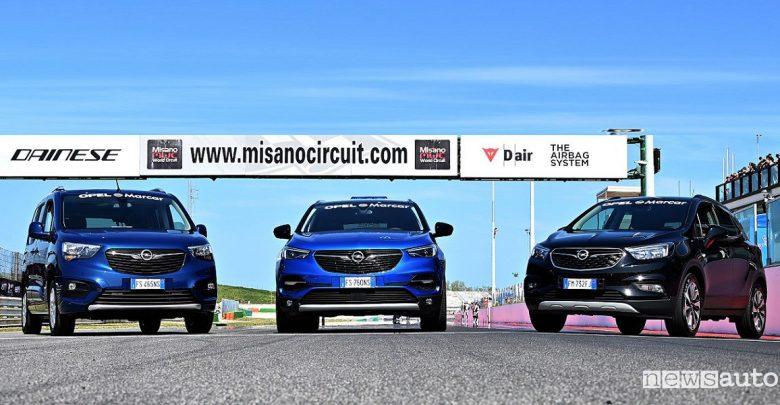 Circuito di Misano, Opel auto ufficiale