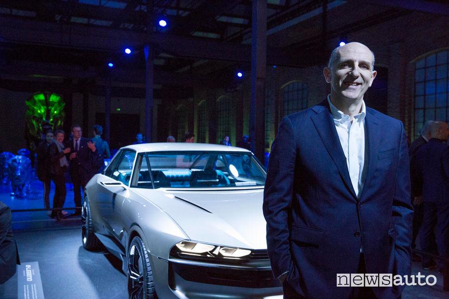 Peugeot alla Milano Design Week 2019, Gaetano Thorel (DG Groupe PSA Italia)