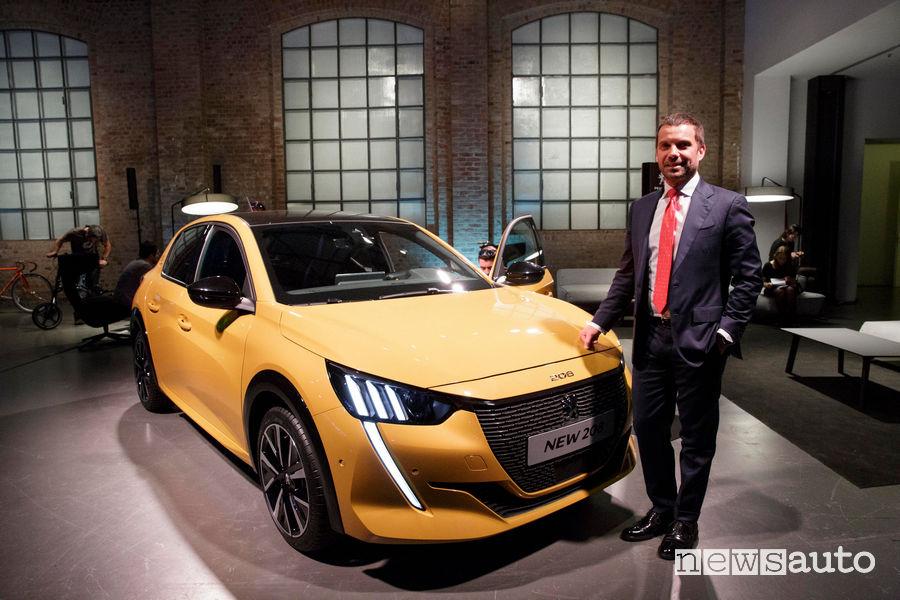 Peugeot alla Milano Design Week 2019, Salvatore Internullo (Direttore Brand Peugeot)