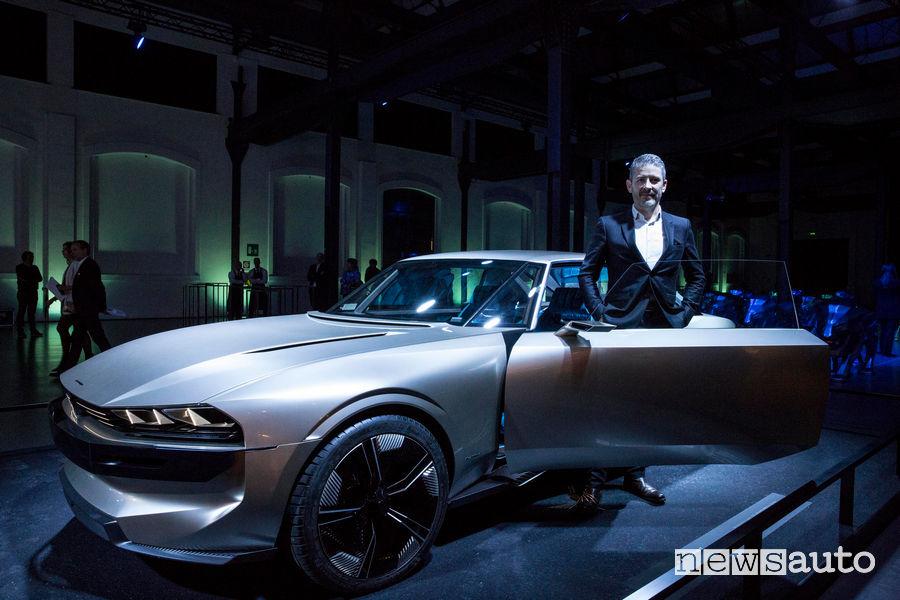 Peugeot alla Milano Design Week 2019, Gilles Vidal (Direttore design Peugeot)