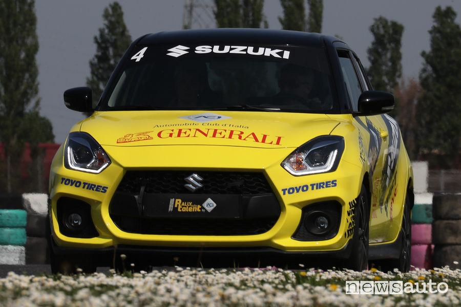 Rally Italia Talent Finale Circuito di Adria Suzuki Swift Sport