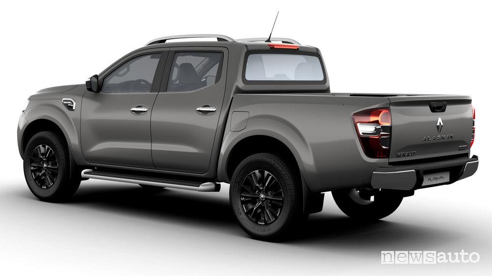 Nuovo Renault Alaskan vista posteriore