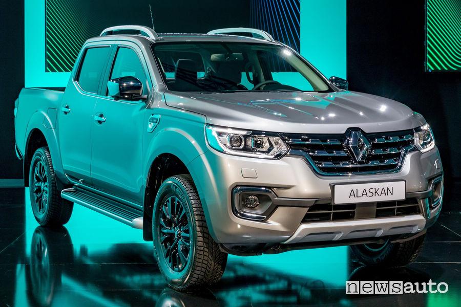 Nuovo pick-up Renault Alaskan 2019