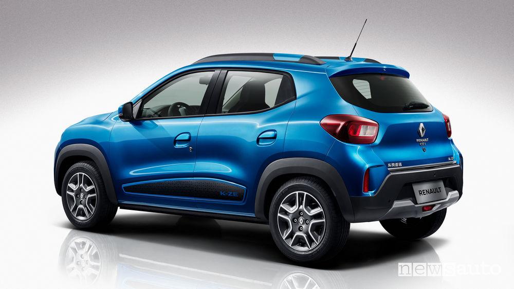 Renault City K-ZE vista posteriore