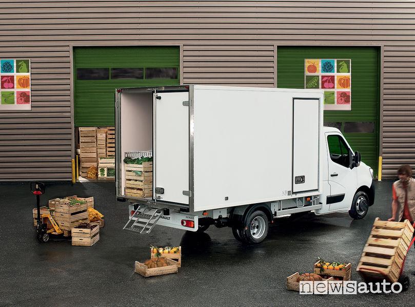 Nuovo Renault Master 2019 trasporto frutta