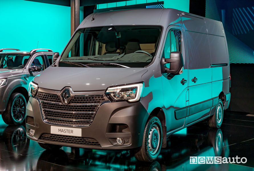 Nuovo Renault Master 2019