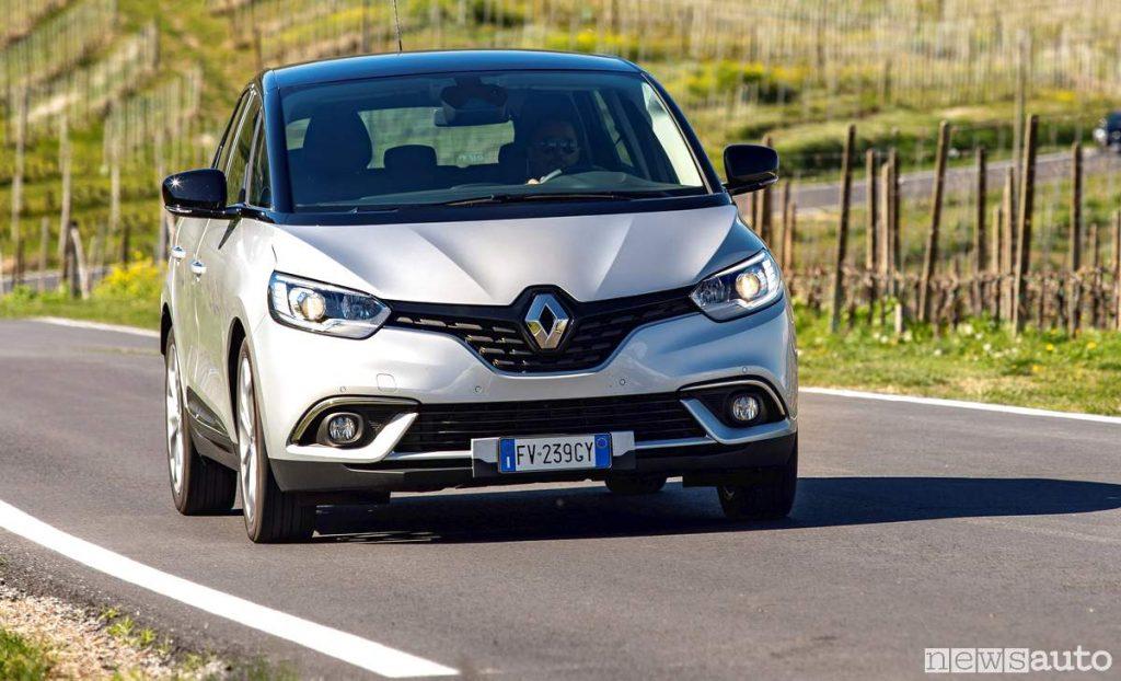 vendite auto aprile 2019 Europa Francia Renault Scenic