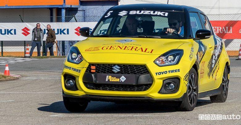 Suzuki Rally Italia Talent 2019 Swift Sport