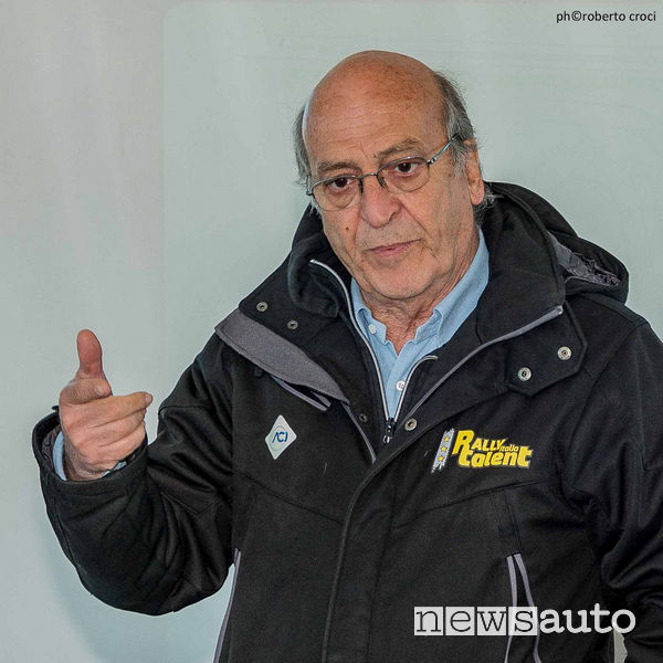 Renzo Magnani di ACI ideatore del Rally Talent sin dal 2014