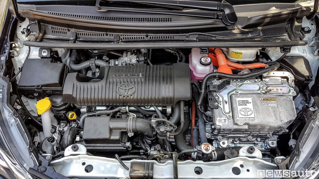 Motore Toyota_Yaris Hybrid 2019