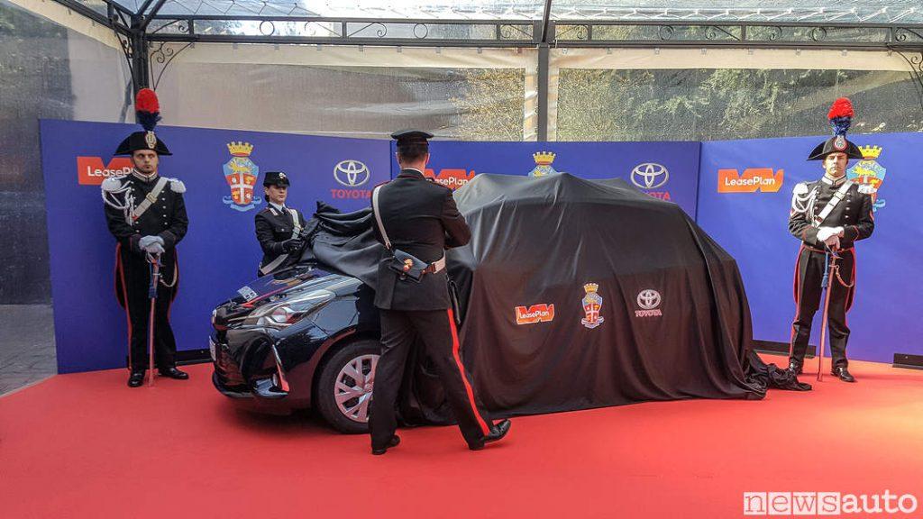 Viene scoperta la Toyota_Yaris_carabinieri (4)