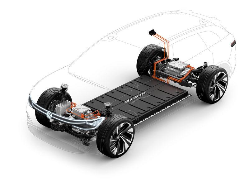 Volkswagen ID. Roomzz batteria da 82 kWh