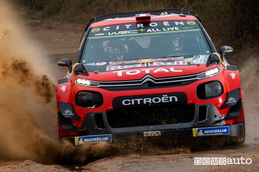 WRC 2019 Rally Argentina Ogier Citroën C3 WRC