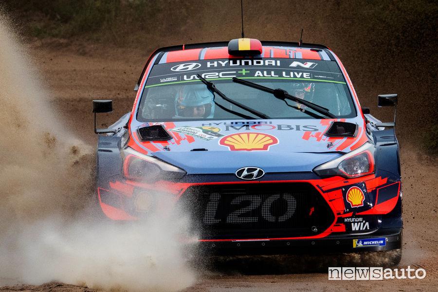 WRC 2019 Rally Argentina Neuville Hyundai i20 WRC Plus
