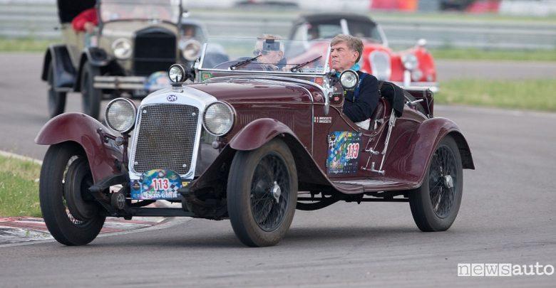 Coppa della Perugina gara di regolarità per auto storiche