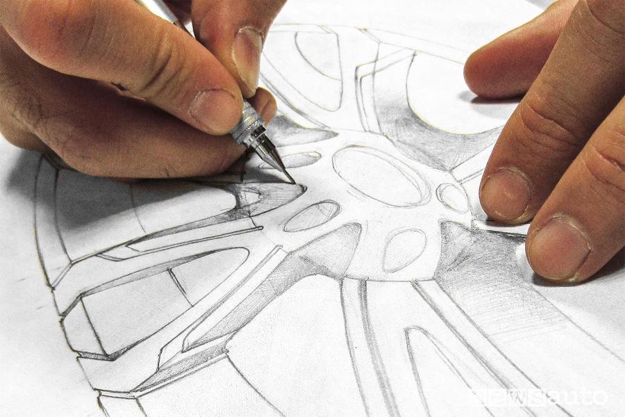 Design ruote MOMO