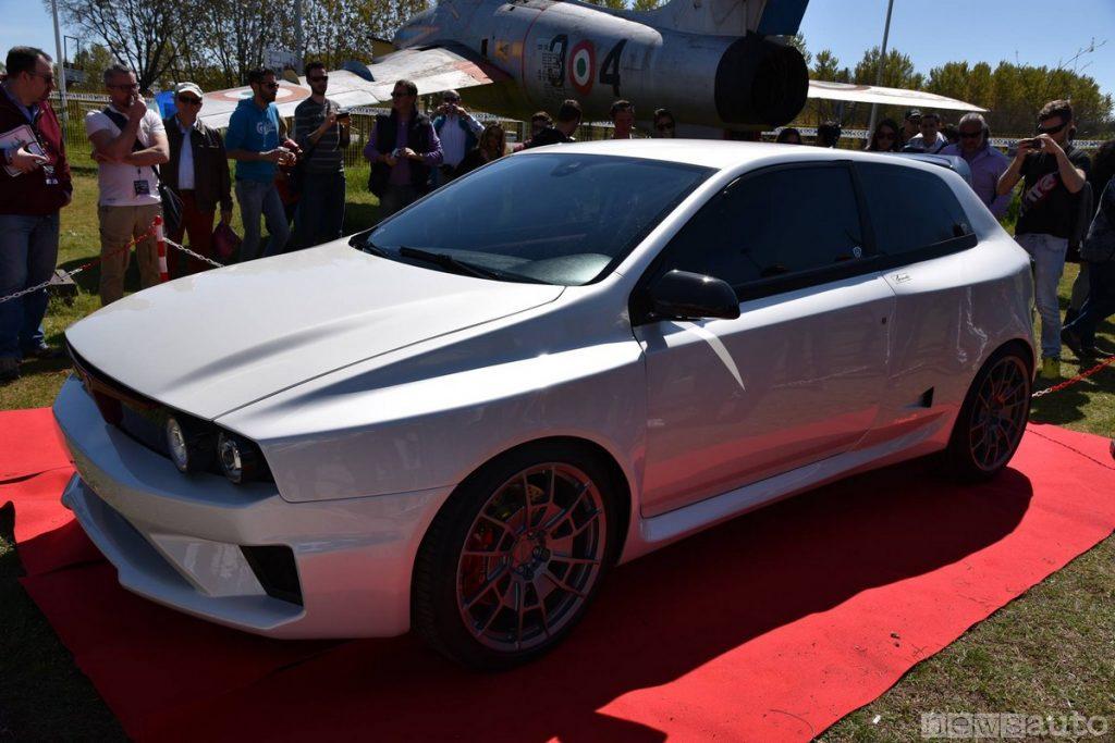 La prima versione di Evoluzione GT, un prototipo già realizzato in memoria della Lancia Delta