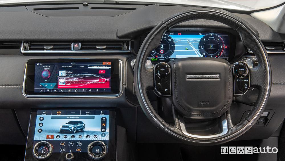 Range Rover Velar tecnologia Smart Wallet