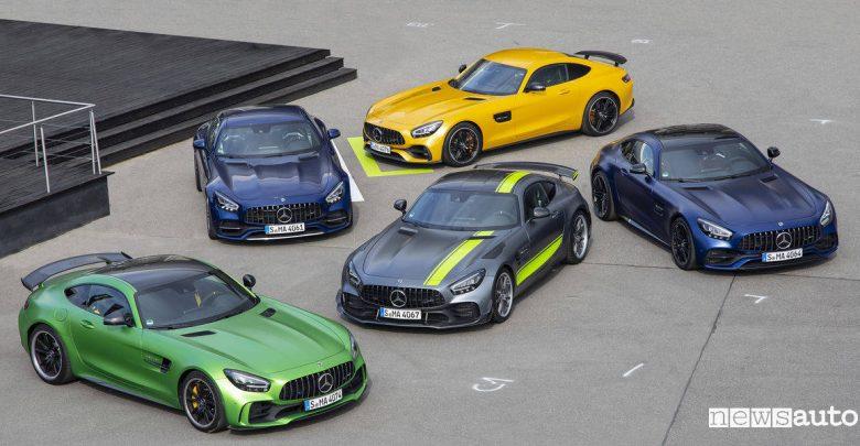 Gamma Mercedes AMG GT 2019