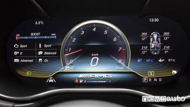 Mercedes AMG GT 2019 cockpit