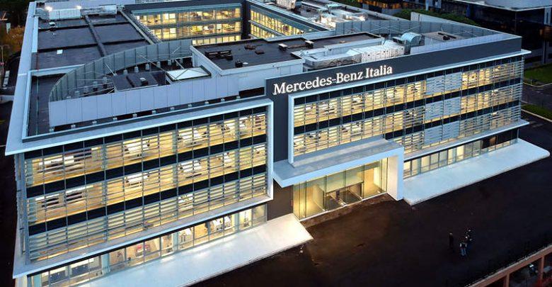 Sede Mercedes-Benz Italia Roma