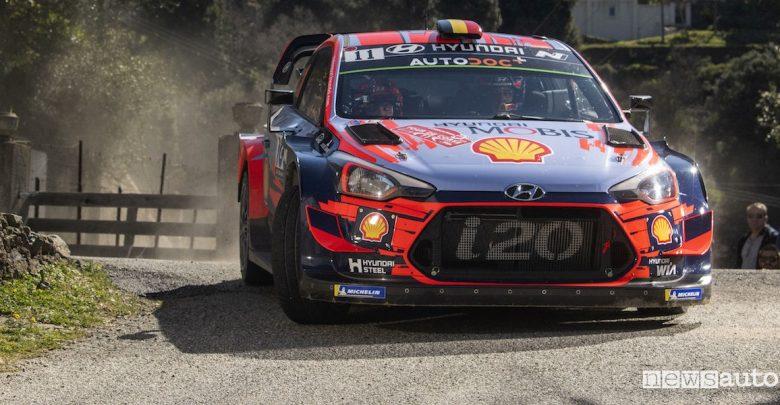 WRC 2019 classifica Rally Francia Hyundai Neuville