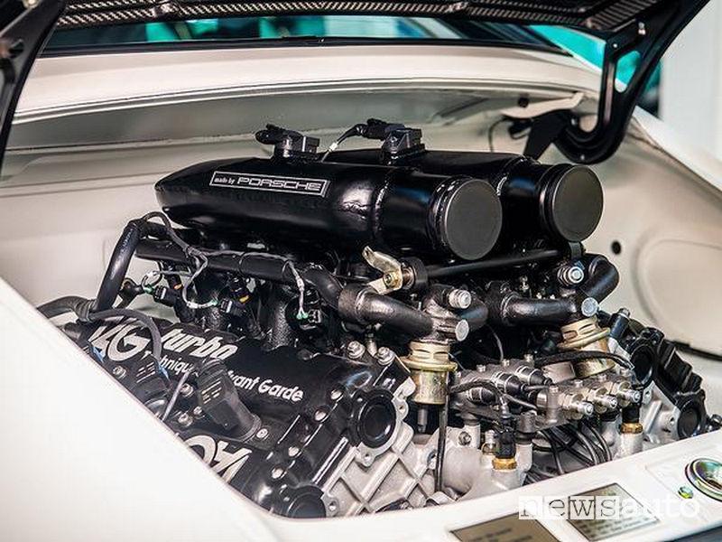Porsche con motore Formula 1 motore tav v6 biturbo