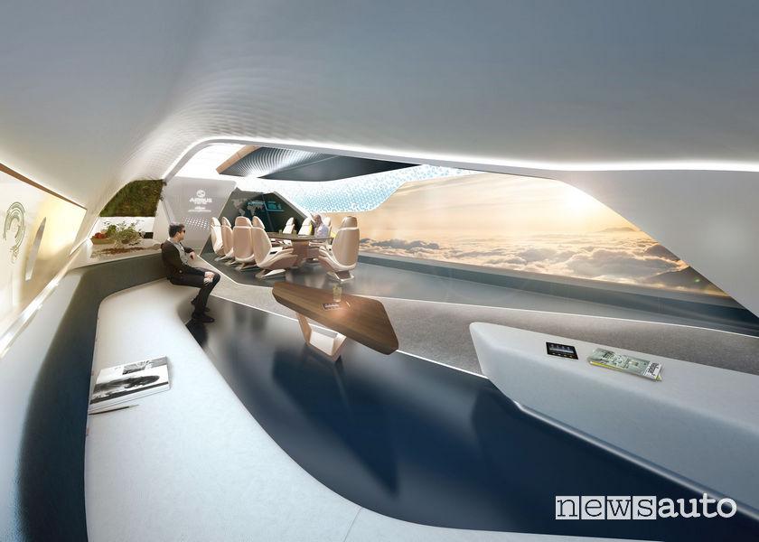 Pininfarina cabina Airbus A350-900