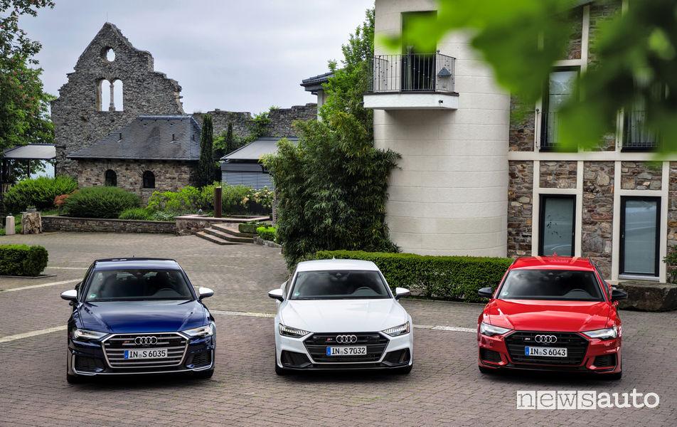 Audi S6, Audi S6 Avant Audi S7 Sportback TDI