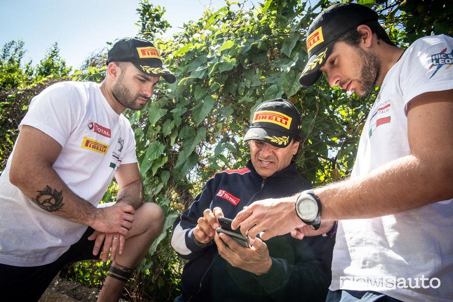 CIR 2019 Targa Florio Peugeot 208 R2 Ciuffi/Gonnella e Paolo Andreucci