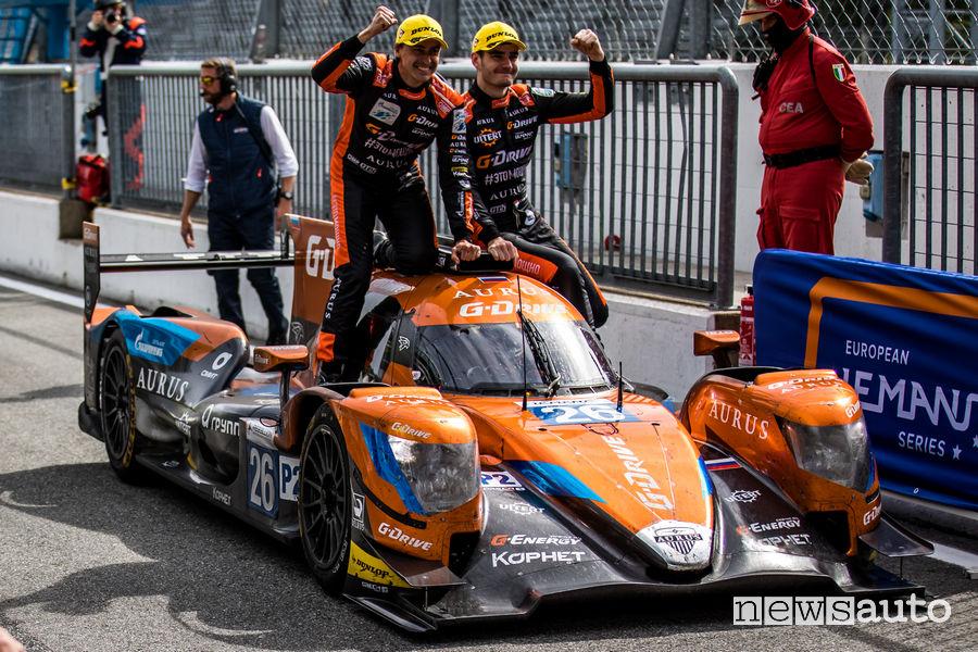 ELMS 4 ore Monza 2019 vincitori Aurus 01 LMP2