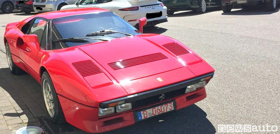 La vera Ferrari 288 GTO di Irvine rubata dal concessionario durante una prova