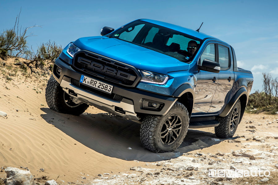 Off road sabbia Ford Ranger Raptor