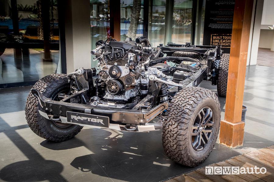 Meccanica Ford Ranger Raptor