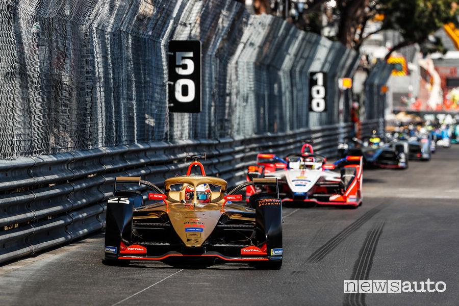Formula E ePrix Monaco 2019 Jean-Éric Vergne DS Techeetah