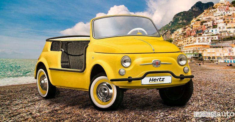 Noleggio Fiat 500 storica, la versione elettrica nella flotta Hertz