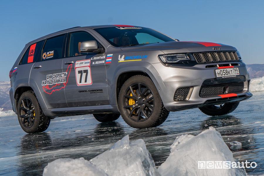 Jeep Grand Cherokee Trackhawk, suv più veloce sul ghiaccio - Attualità