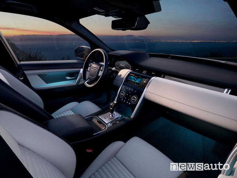 Land Rover Discovery Sport plancia strumenti