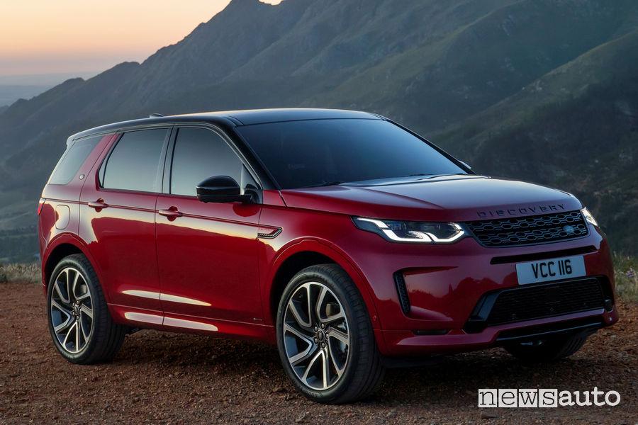 Land Rover Discovery Sport vista di profilo