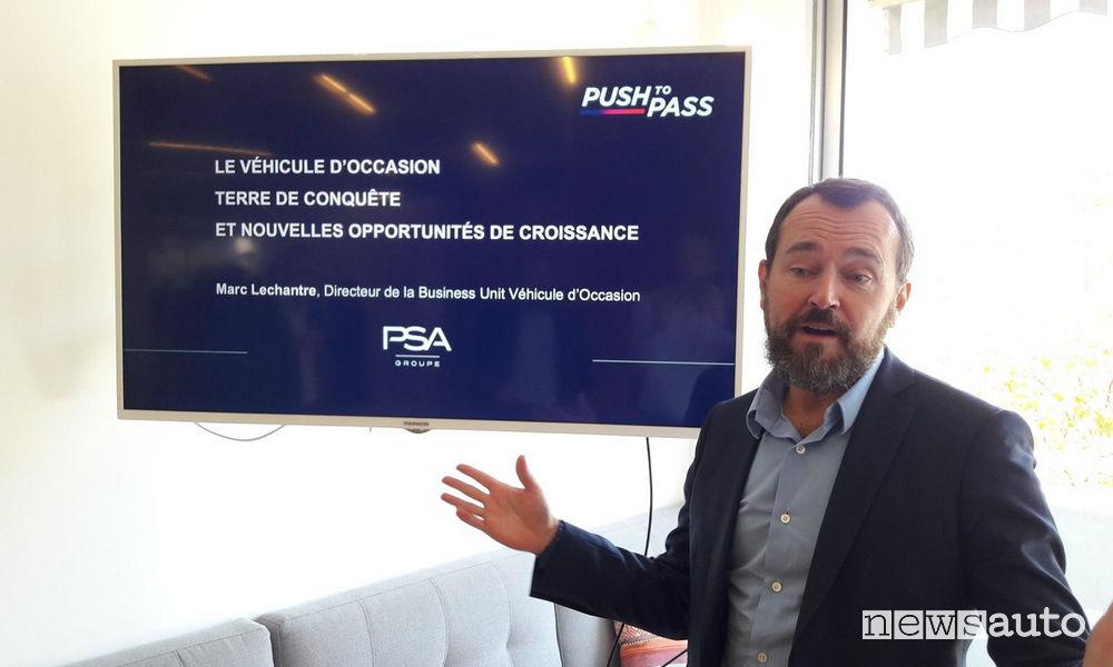 Marc Lechantre, Direttore della Business Unit Veicoli d'Occasione