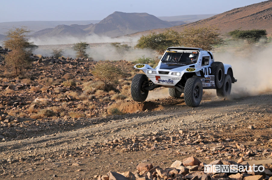 Vauthier/Polato su MD Optimus #308 vincitori della categoria auto/buggy Morocco Desert Challenge 2019