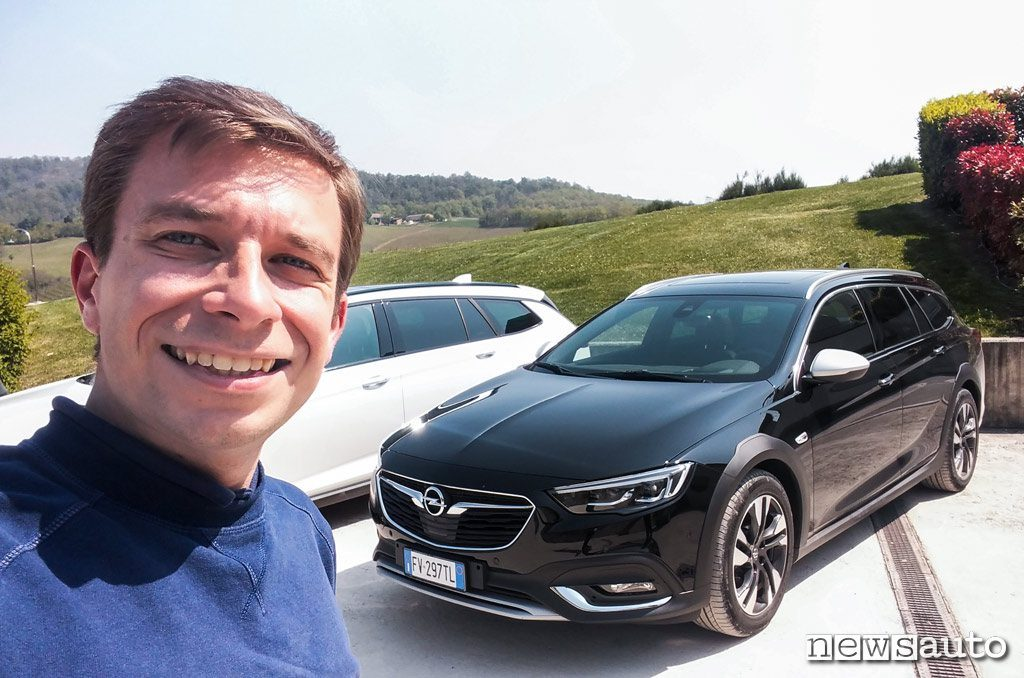 Opel Insignia Country Tourer con Marco Paternostro