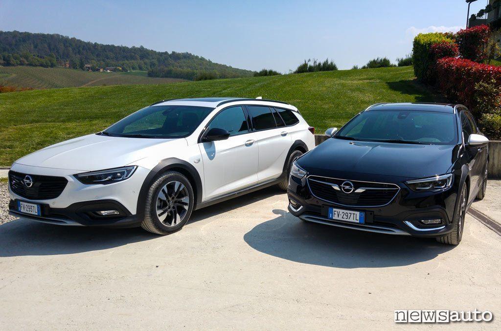 Opel Insignia Country Tourer la prova su strada