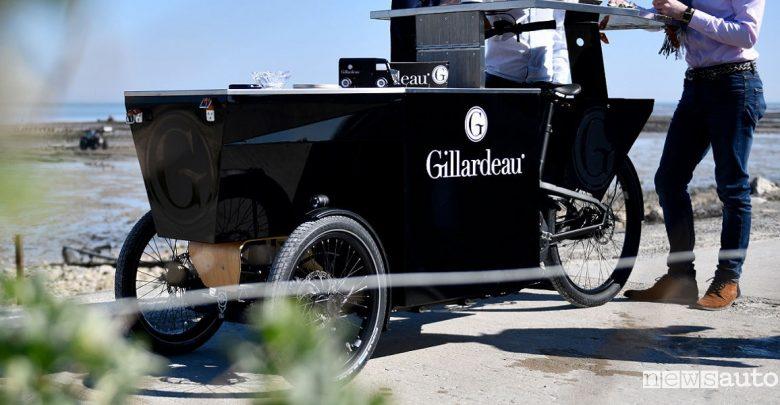 ostriche Gillardeau Peugeot foodtruck