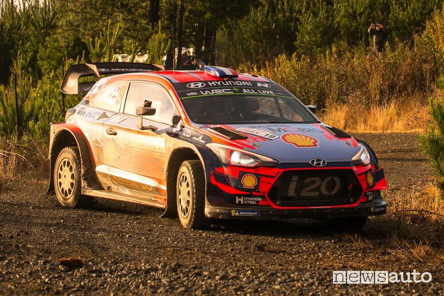 WRC Rally del Cile 2019 Loeb Hyundai i20 Coupe WRC